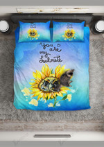 Bee You'Re My Soulmate Printed Bedding Set Bedroom Decor