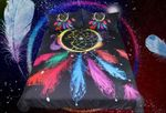 Colorful Feathers Dreamcatcher Printed Bedding Set Bedroom Decor