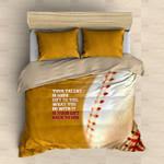 Baseball  Your Gift Back To God Bedding Set Bedroom Decor