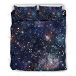 Beautiful Imagine Art Print Constellation Galaxy Space  Bedding Set Bedroom Decor