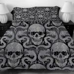 3D Sugar Dragon Skull  Bedding Set Bedroom Decor
