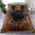 Cats Cute You And Me We Got This Bedding Set Bedroom Decor