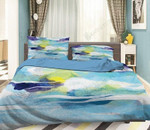 3D Abstract Rivere   Bedding Set Bedroom Decor