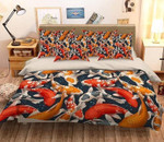 3D Colorful Fishes Bedding Set Bedroom Decor