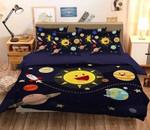 3D Cartoon Sun Bedding Set Bedroom Decor