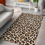 Leopard Pattern 3D Printed Area Rug Home Decor