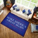 Make America Great Again Blue Colour  Area Rug Home Decor