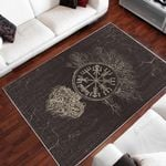 Viking Icon Painting Art 3D Printed Area Rug Home Decor