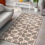 2020 Cute Pusheen Cat Pattern 3D Printed Area Rug Home Decor
