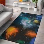 Planets Area 3D Print Design Area Rug Home Decor