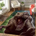Awesome Dinosaur 3D Grapic Design Area Rug Home Decor