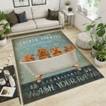 Gift For Dog Lovers The Cocker Spaniel Area Rug Home Decor