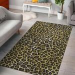 Leopard Cheetah Animal 3D Printed Area Rug Home Decor