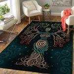 Norse Myths 3D Printed Area Rug Home Decor