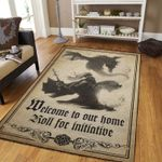 Dragons Welcome To Home 3D Grapic Design Area Rug Home Decor