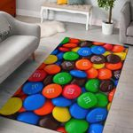 Chocolates Candy Pattern 3D Printed Area Rug Home Decor