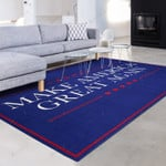 Make America Great Blue And White  Area Rug Home Decor