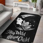 Stay Wild Moon Child 3D Printed Area Rug Home Decor