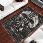 Bane And 2020 Calendar Pattern 3D Printed Area Rug Home Decor