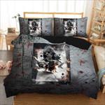 Cartoon Skull Poker Bedding Set Bedroom Decor