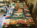 Beautiful Vw Bus Bedding Set Bedroom Decor