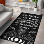 Ouija Witch 3D Printed Area Rug Home Decor