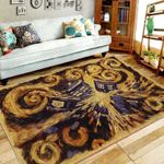 The House Pattern Painting Art 3D Printed Area Rug Home Decor