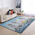 Tiger White LGBT 3D Print Design Area Rug Home Decor