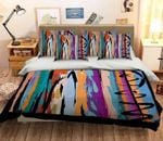 3D Colorful Painted Bedding Set Bedroom Decor