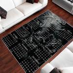 Calendar 2020 Pattern 3D Printed Area Rug Home Decor