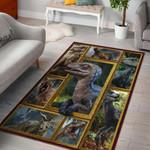 Dinosaur 3D Grapic Design Area Rug Home Decor