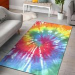 Colours Swirl Painting Art 3D Printed Area Rug Home Decor
