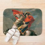 Napoleon Riding Horse Vintage Painting 3D Printed Doormat For Home Decor