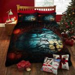 Mystery Halloween Forest Printed Bedding Set Bedroom Decor