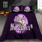 Happy Halloween Printed Bedding Set Bedroom Decor