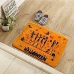 Witch Halloween Pattern Doormat Living Room Home Decor