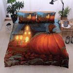Halloween House  Printed Bedding Set Bedroom Decor
