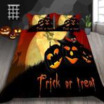 Pumpkin Lantern Halloween Printed Bedding Set Bedroom Decor