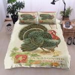A Turkey Thanksgiving Printed Bedding Set Bedroom Decor
