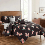Cherryhill Flower Printed Bedding Set Bedroom Decor