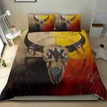 Viking Bison  Printed Bedding Set Bedroom Decor