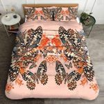 Floral Butterfly Printed Bedding Set Bedroom Decor