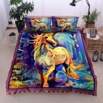 Unicorn Painting Printed Bedding Set Bedroom Decor