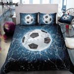 Ice Football Printed Bedding Set Bedroom Decor