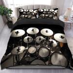 Cymbals Music Instrument Printed Bedding Set Bedroom Decor