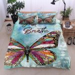 Butterfly The Breathe Printed Bedding Set Bedroom Decor
