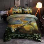 Little Fox Printed Bedding Set Bedroom Decor