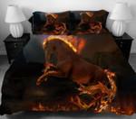 Fire Horse Erosebridal Printed Bedding Set Bedroom Decor