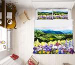 Wild Flowers Printed Bedding Set Bedroom Decor