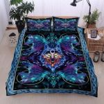 Wolf Galaxy Printed Bedding Set Bedroom Decor